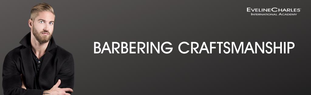 Program banner for Barbering Craftsmanship